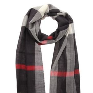 Burberry 100% silk square scarf